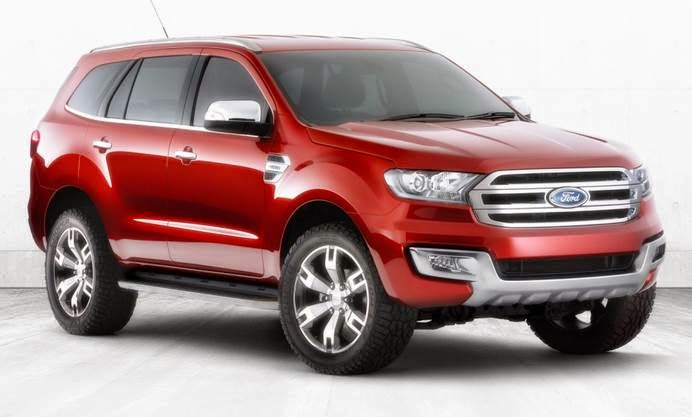 2014 New Ford Everest Concept Reviews
