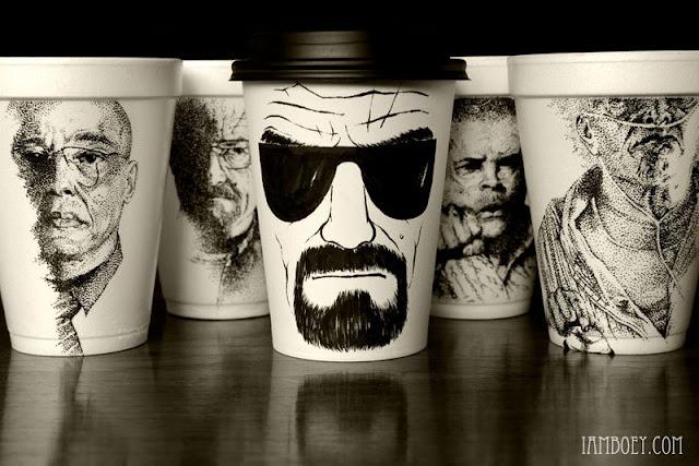Vasos de café de Breaking Bad