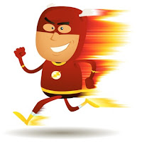 comic hero running fast, killorin wellness consulting