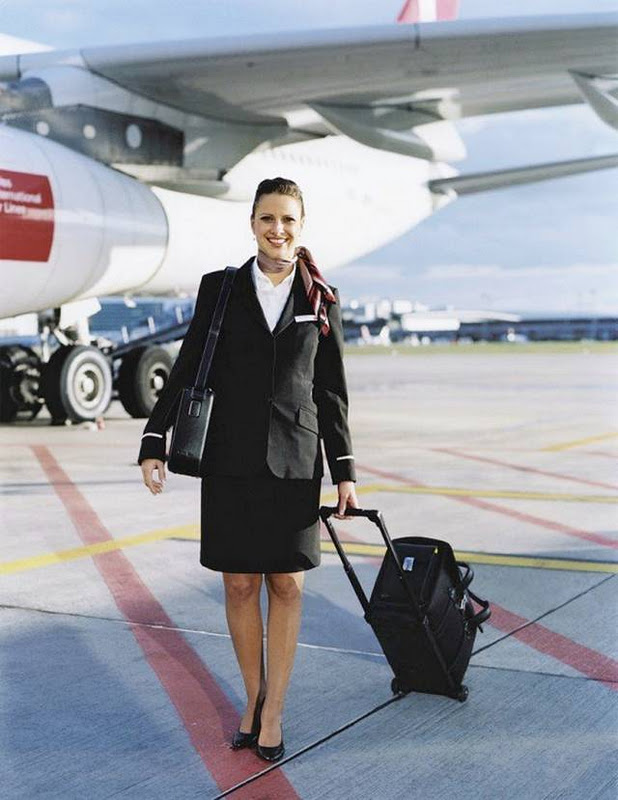 43Switzerland252CSwissAirlinesAirHostess - Air Hostess From Different Countries