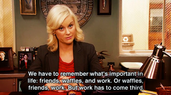 Parks and Recreation, waffles, Leslie Knope
