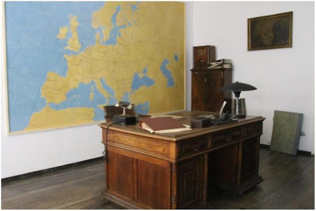 Despacho de Oskar Schindler en la fabrica Emalia en Cracovia