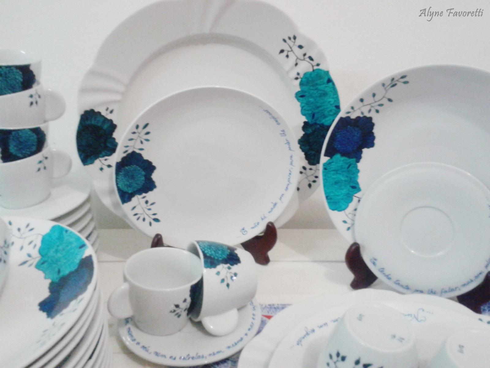 Alyne Favoretti: Aparelho de Jantar para 12 pessoas personalizado para  #1F7887 1600x1200
