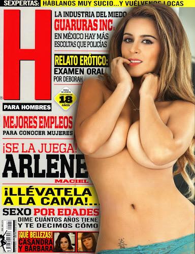 Fotos Arlene Maciel Revista H para Hombres Junio 2013