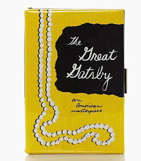 kate spade The Great Gatsby book clutch