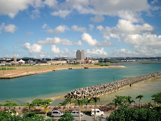 where to live in okinawa mihama area