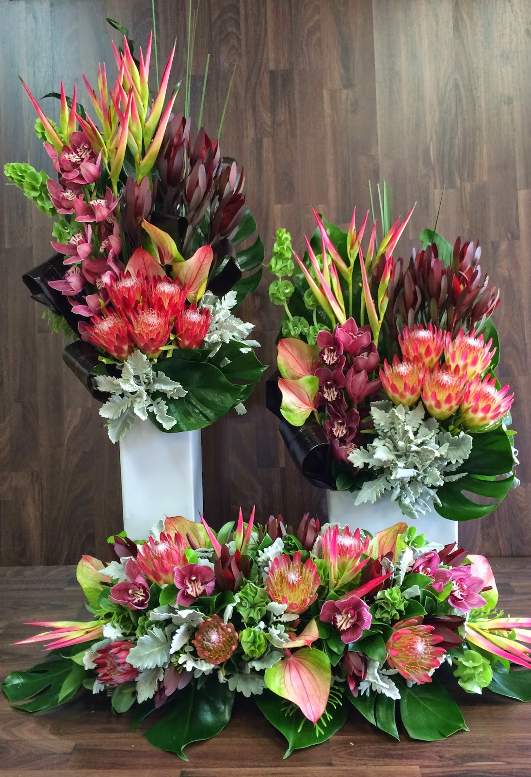 Urban flower australian native flower arrangements for Floral creations