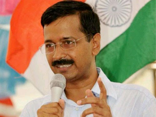 Arvind Kejriwal, the leader of Aam Aadmi Party