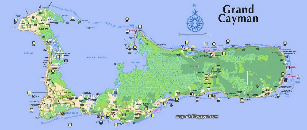 Map of UK: Cayman Islands Map Region Political Information Grand Cayman Map on belize map, grenada map, acapulco map, tampa bay cruise port terminal map, jamaica map, bermuda map, cozumel map, florida map, bahamas map, grand turk map, st. thomas map, venezuela map, seven mile beach map, mexico map, dominican republic map, hawaii map, caribbean map, aruba map, grand caicos map, grand caymen,