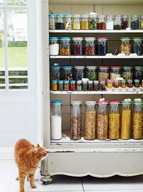 Vintage finds organizing ideas for Perfect kitchen organization