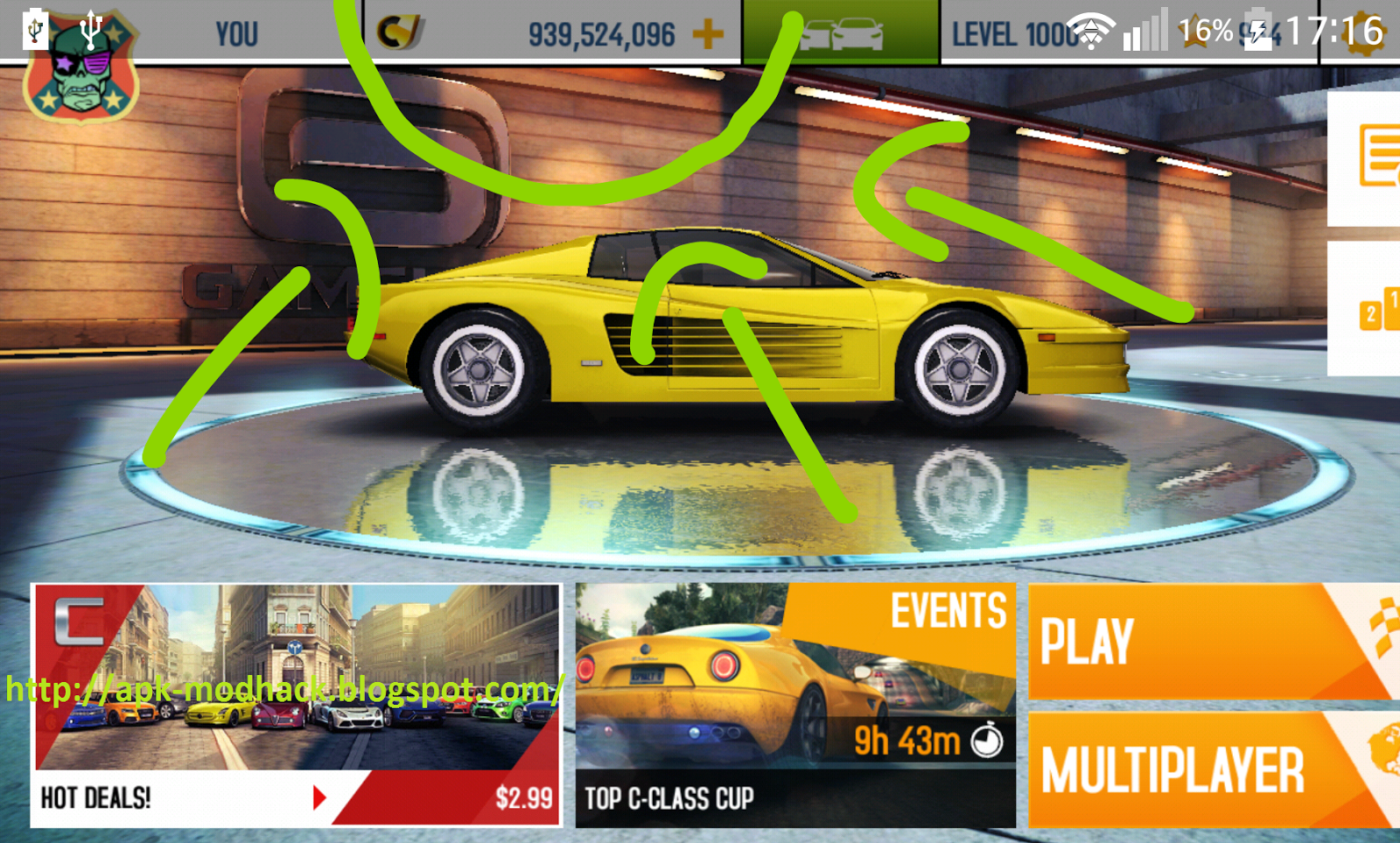 asphalt 8 apk sd data