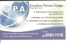 Eng. Agronomo Genilson Pereira Arajo