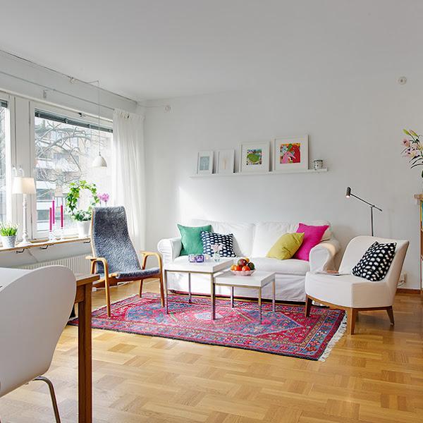 Un apartamento de 45 metros muy bien distribuido p g 2 for Decorar casa 60 metros