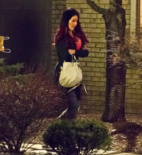 Pregnant Snooki Gets Surprised by In-Laws with Engagement Bash