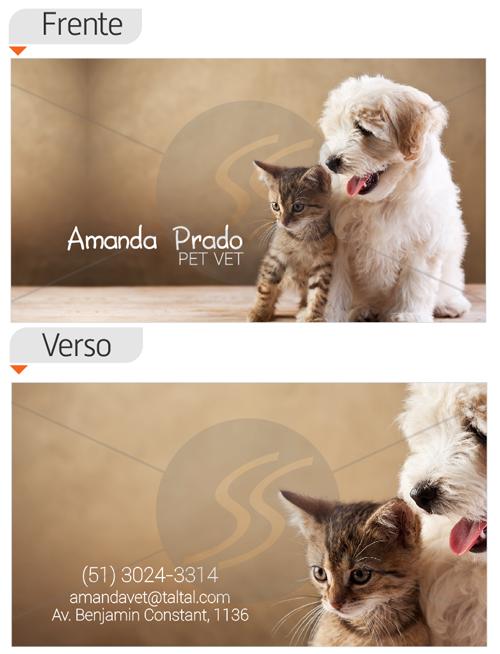 cartoes de visita veterinarios 001 - 15 lindos Cartões de Visita de Veterinários