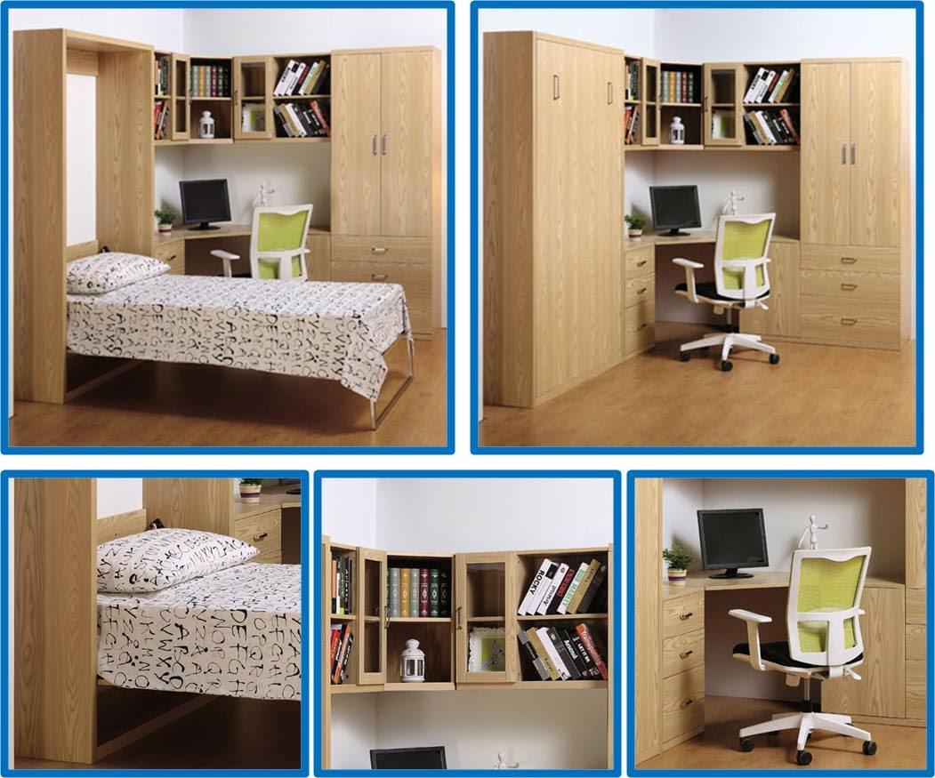 Muebles inteligentes mayo 2014 for Recamaras con escritorio