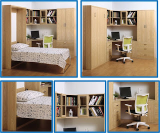 Muebles inteligentes recamara completa multifuncional - Muebles inteligentes ...