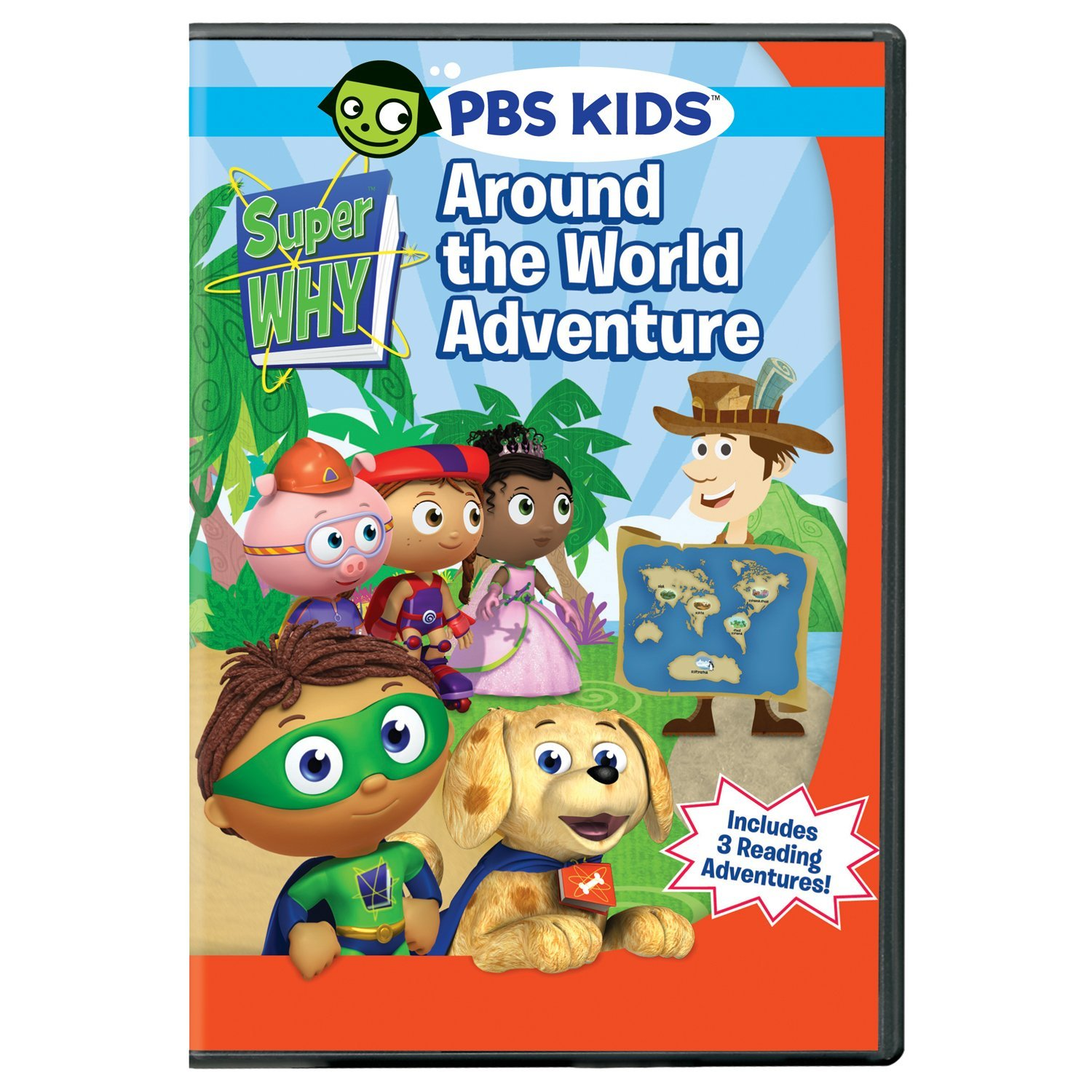 Super Why Around The World Adventure Dvd Review