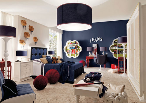 Bright and Comfortable Bedroom for Kids