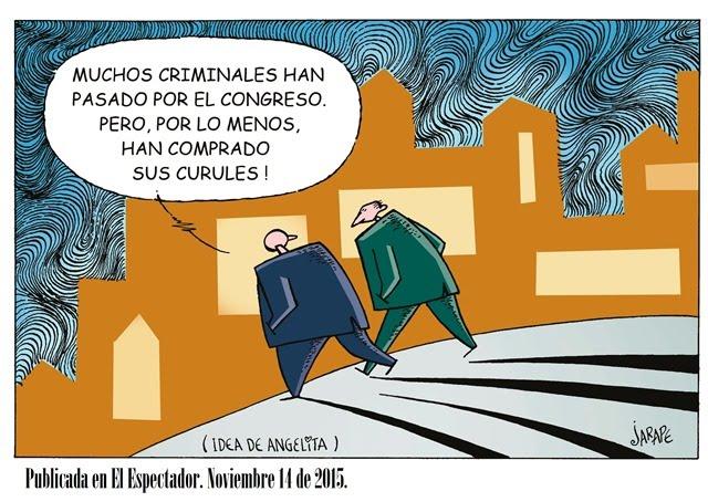 Congreso y criminales