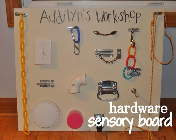hardware sensory board