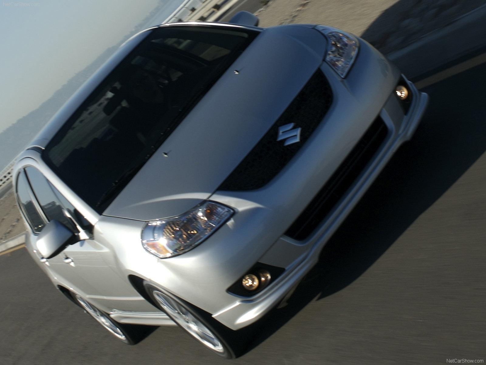 Hình ảnh xe ô tô Suzuki SX4 Sedan 2008 & nội ngoại thất