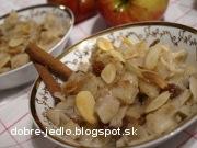 Cestoviny s jablkovým pyré - recept