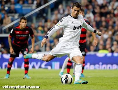 Real Madrid-Celta Vigo 2-0 Cristiano Ronaldo