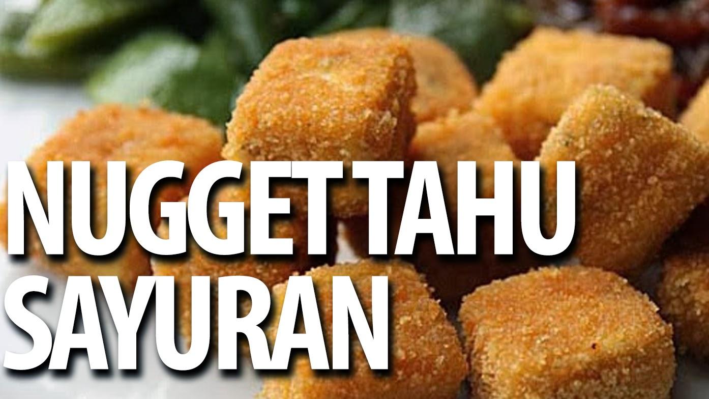 Nugget Tahu Sayuran Resep Masakan Praktis Rumahana