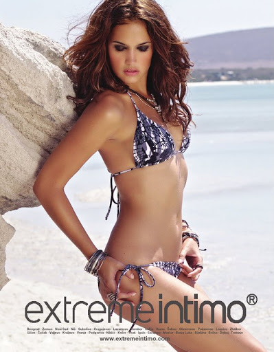 Bailey Nortje hot in Extreme Intimo swimwear model photo