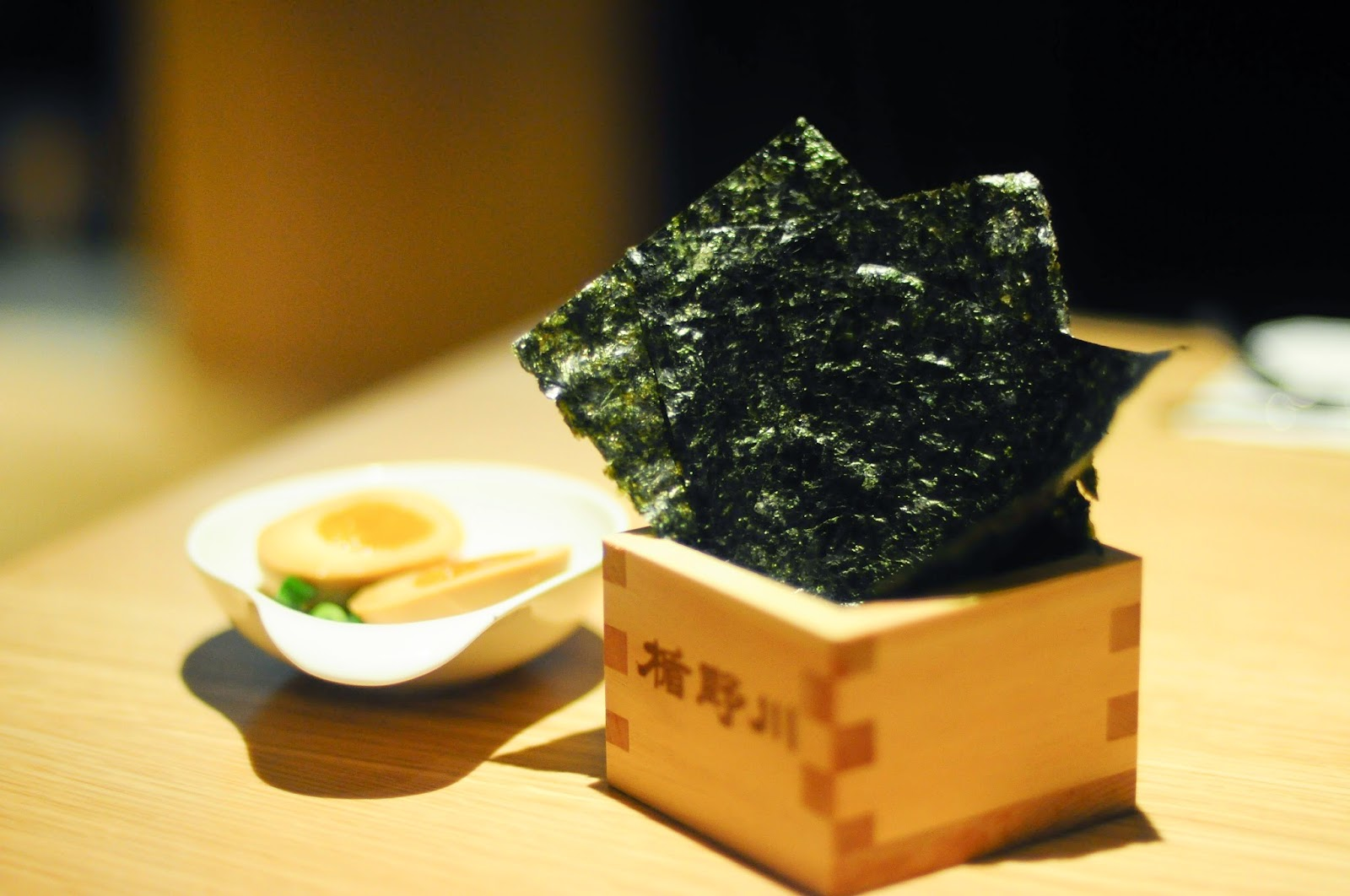 Ippudo Ramen Singapore review Nori Seaweed