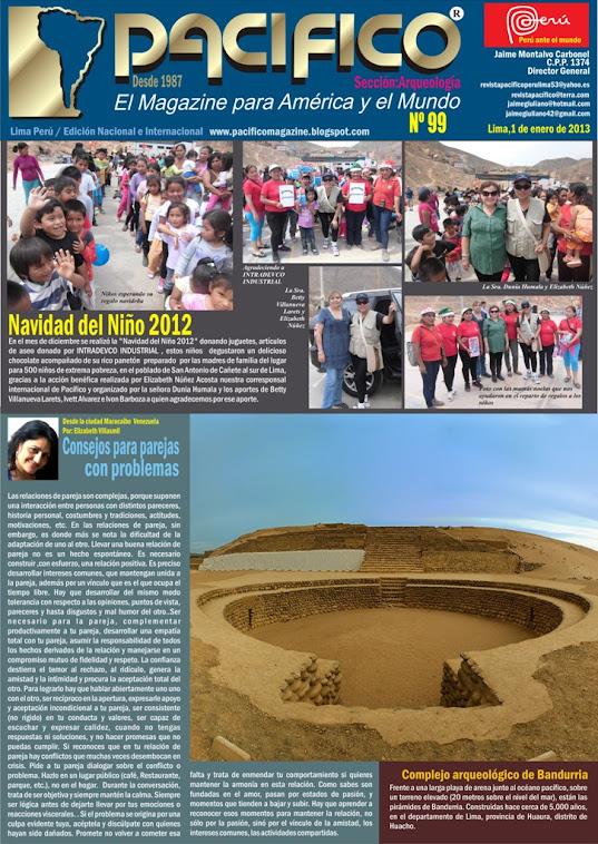 Revista Pacífico Nº 99 Arqueología