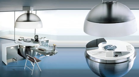 ultra-modern-spherical-kitchen