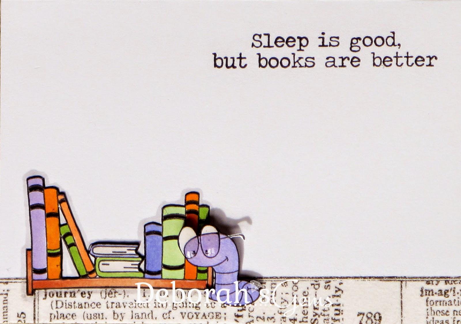 Book Worm - photo by Deborah Frings - Deborah's Gems