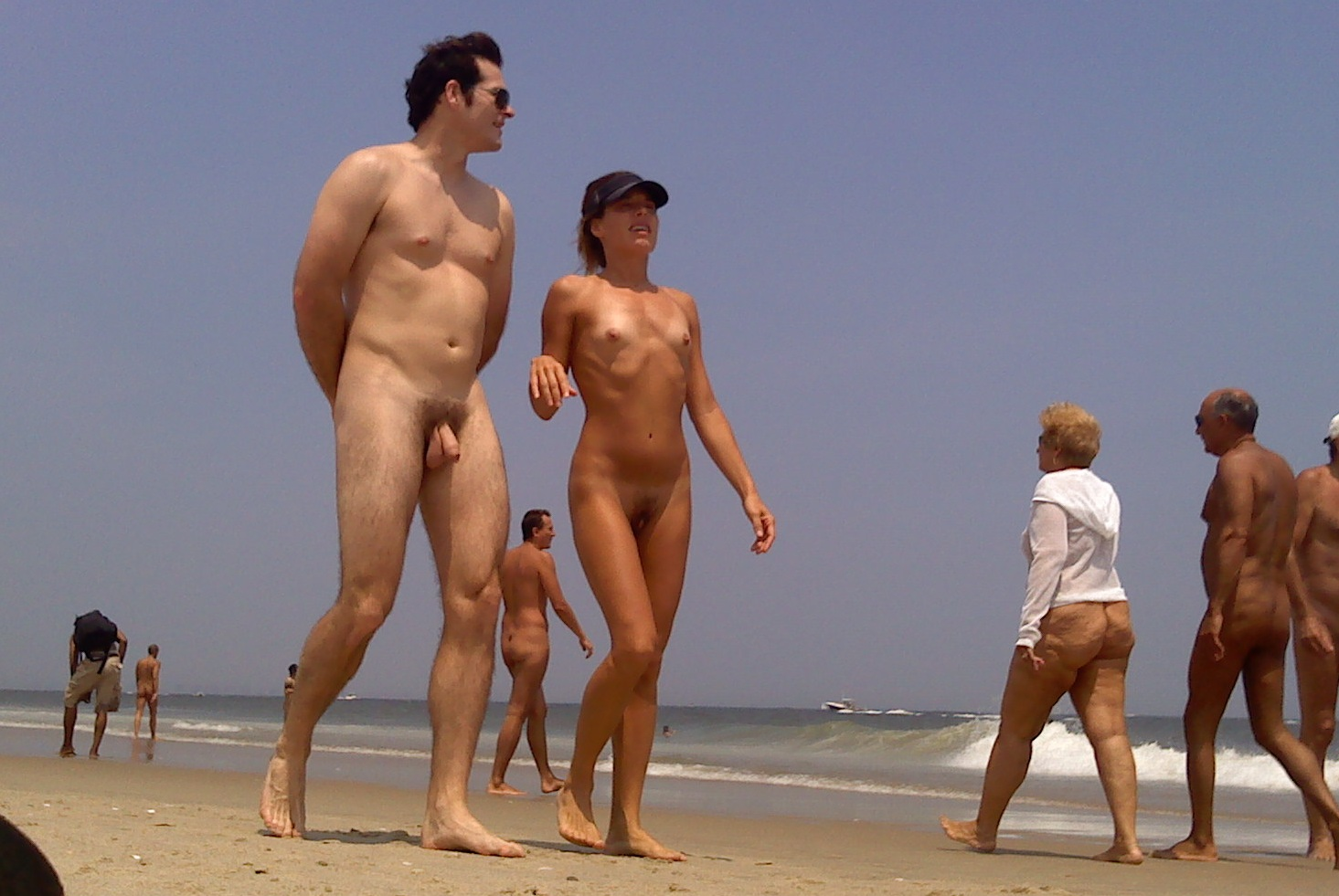 this is a nude beach now