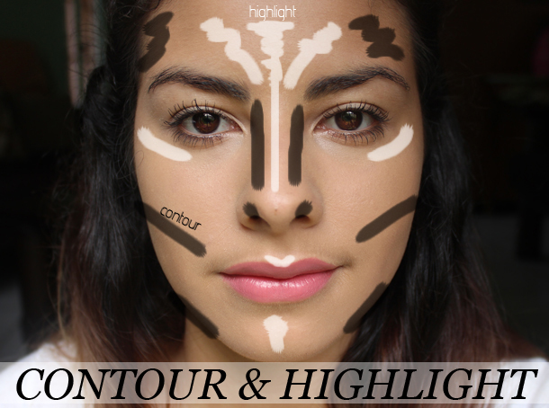 contouring highlighting using powders mac pro sculpting shaping