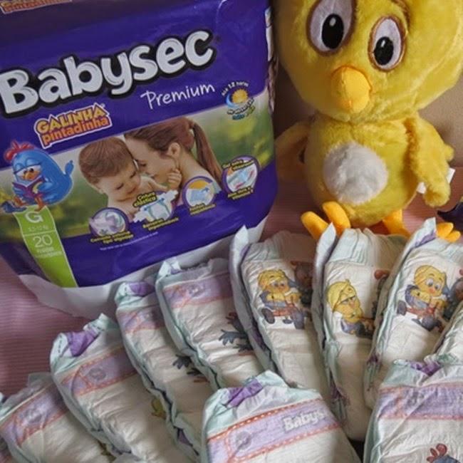Babysec, Bebês, Cuidados, Fraldas, Galinha Pintadinha, Publipost,