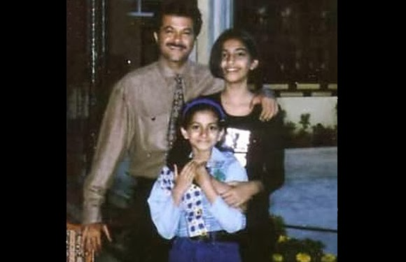 childhood rare photos of sonam kapoor | childhood rare photos of Rhea Kapoor