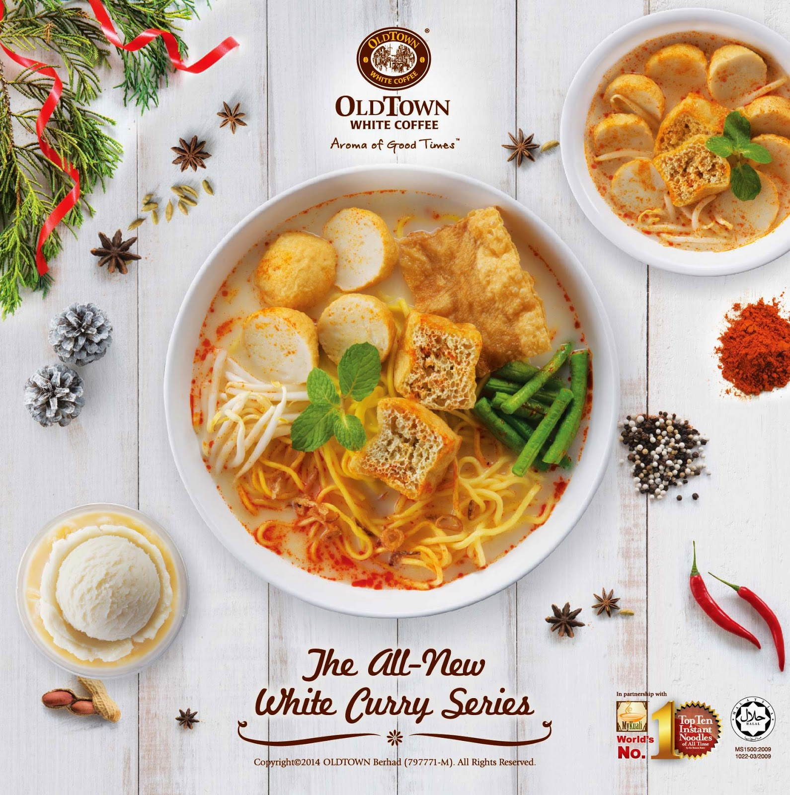 The All New White Curry Old Town White Coffee