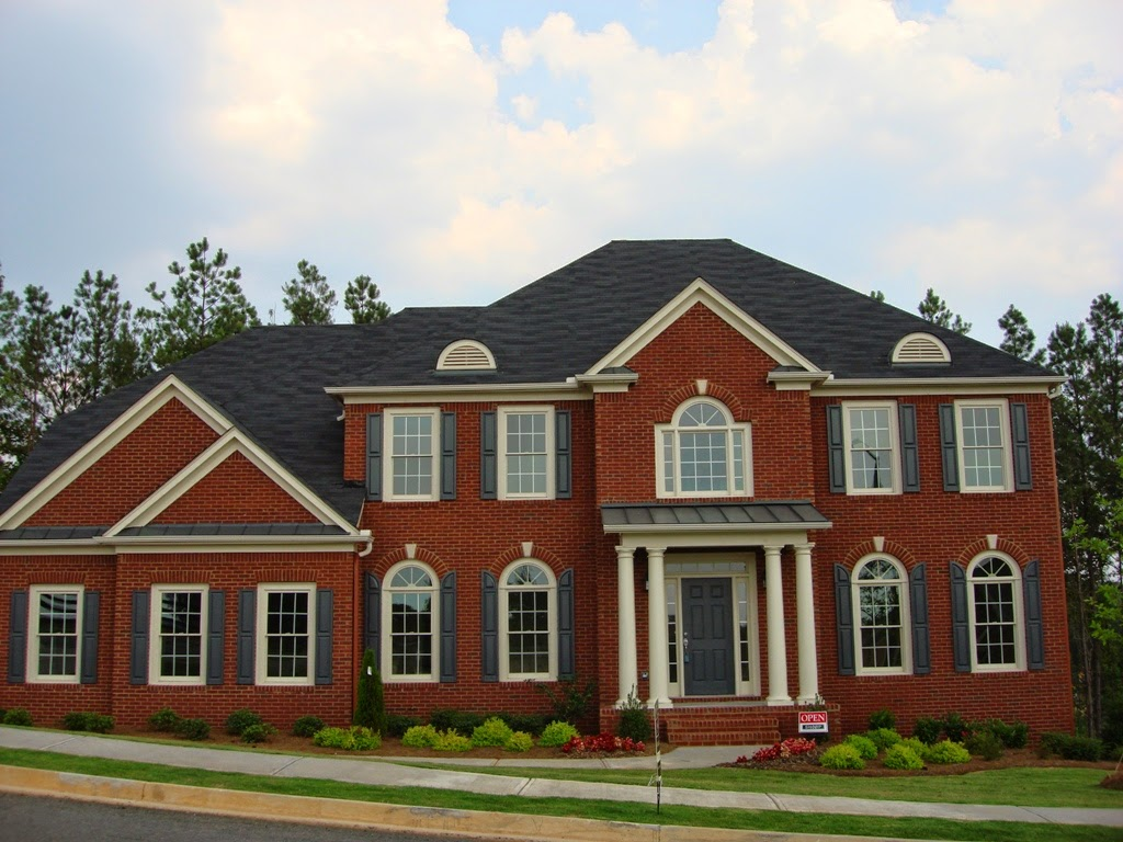 Exterior brick design ideas ideas for home decor for Brick house designs