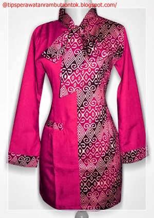 Gambar model baju batik wanita modern gambar model baju Gambar baju gamis batik wanita