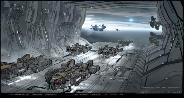 Future War Stories: FWS Topics: Dropships