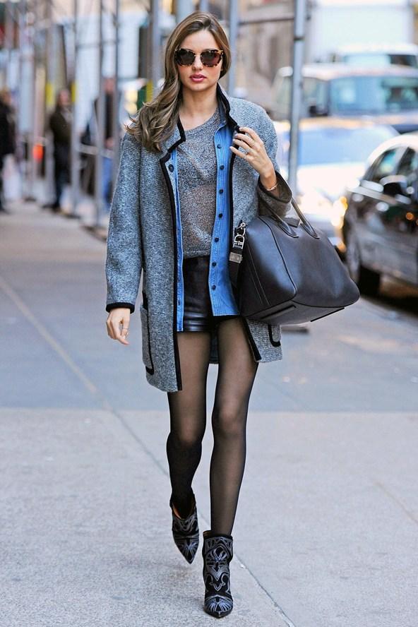 Around The World Street Style Miranda Kerr