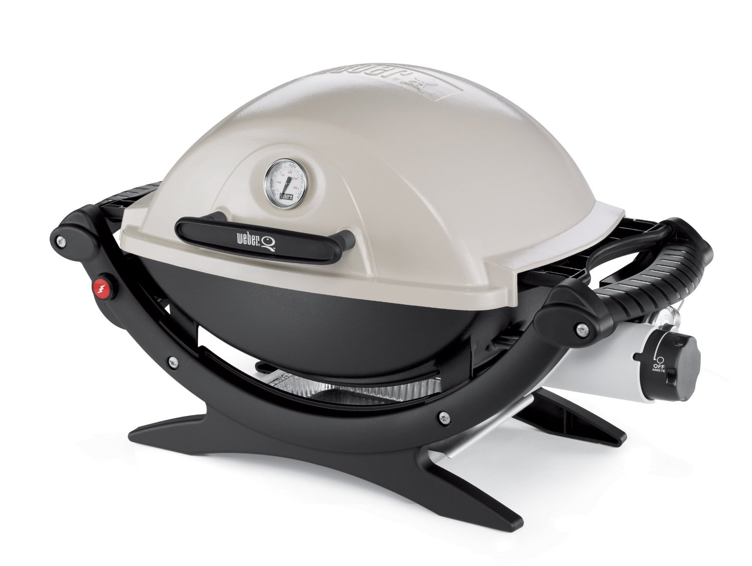 Weber q120 the portable gas grill that almost everyone for Barbecue weber gaz q120