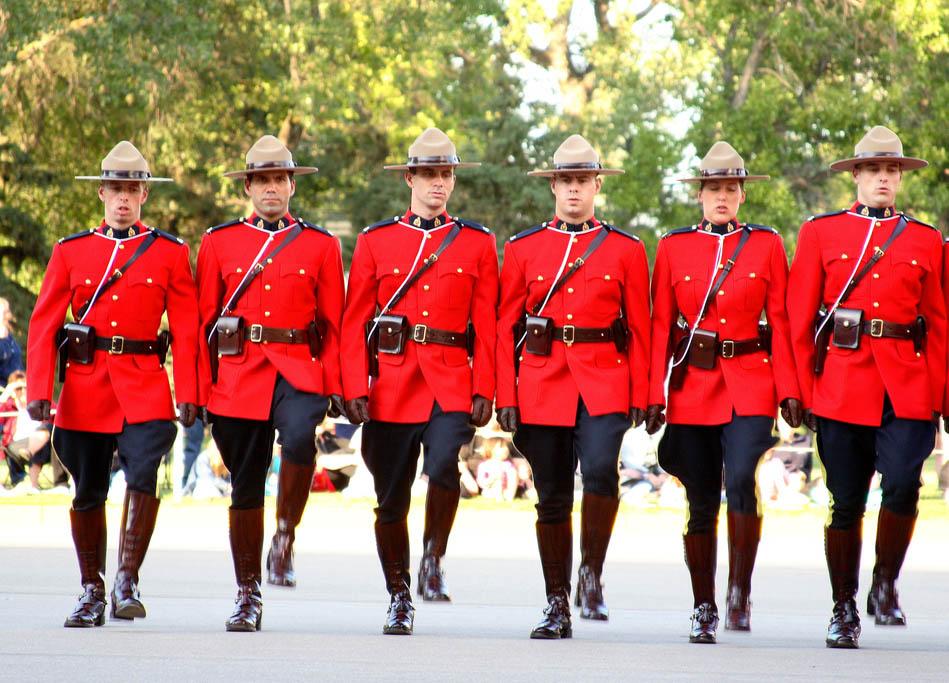 カナダのガチョウの服