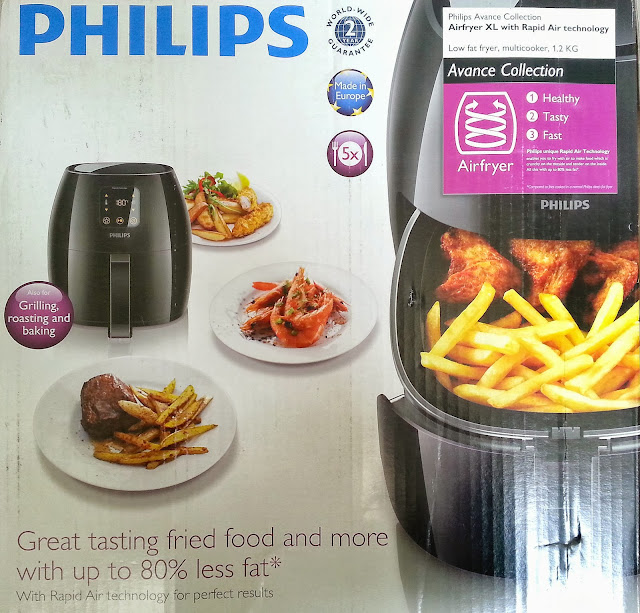 Philips Airfryer XL, Healthy Frying, Airfryer recipes