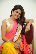 Shraddha das photos in Saree at Rey audio launch-thumbnail-12