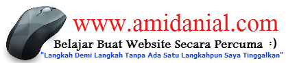 Belajar Buat Website Di amidanial.com