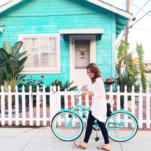 beach-cruising-santa-monica-turquoise-bike