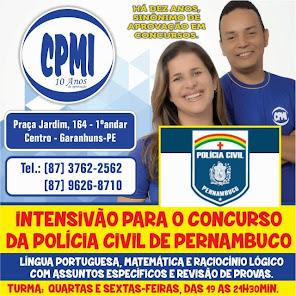 AGORA COM TURMA ESPECÍFICA PARA O CONCURSO DA POLÍCIA CIVIL DE PERNAMBUCO.